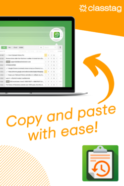Clipboard Copy and Paste with ease