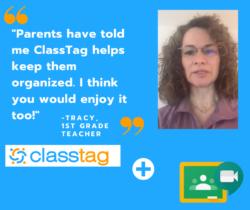 ClassTag Keeps Parents Organized